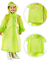 cheap -EVA Girls' / Boys' High quality, formaldehyde free / Recyclable / No smell Rain Coat