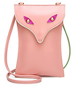 cheap -Women's Bags PU Shoulder Bag Pattern / Print Black / Blushing Pink