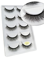 abordables -Œil 1 Naturel Bouclé Maquillage Smoky-Eye Maquillage Œil de Chat Maquillage de Fée Maquillage de Fête Maquillage d'Halloween Maquillage