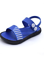 cheap -Boys' Shoes PVC Leather Summer Comfort Sandals for Toddler Black / Brown / Blue
