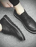 economico -Per uomo Scarpe PU (Poliuretano) Autunno Comoda Sneakers Nero / Grigio / Marrone