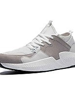 cheap -Men's Shoes Rubber Summer Comfort Sneakers White / Black / Gray