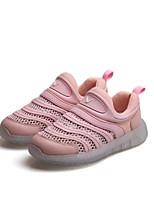 Недорогие -Девочки Обувь Тюль Весна Удобная обувь Кеды для Серый / Желтый / Розовый