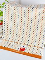 abordables -Qualité supérieure Serviette de bain / Serviette, Points Polka Polyester / Coton Salle de  Bain