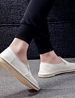 abordables -Homme Chaussures Toile Eté Confort Mocassins et Chaussons+D6148 Blanc / Noir
