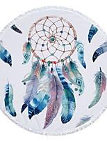 abordables -Qualité supérieure Drap de plage, Peinture Polyester / Coton 1 pcs