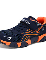 cheap -Boys' Shoes Net / Tulle Spring & Summer Light Soles Sneakers Hollow-out / Magic Tape for Dark Blue / Orange / Black