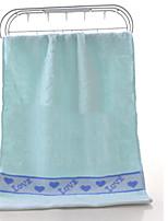 abordables -Style frais Serviette, Couleur Pleine Qualité supérieure Polyester / Coton 100% coton