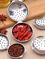 abordables -Outils de cuisine Acier Inoxydable Creative Kitchen Gadget Herb & Spice Tools Épices 1pc
