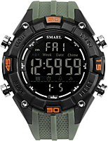 cheap -Men's Digital Military Watch Sport Watch Casual Watch Japanese Chronograph Water Resistant / Water Proof Casual Watch Silicone Band