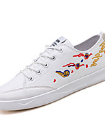 cheap -Men's Shoes Canvas Fall Light Soles Sneakers White / Black / Red