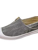 cheap -Men's Shoes Canvas Summer Comfort Sneakers Beige / Gray / Blue