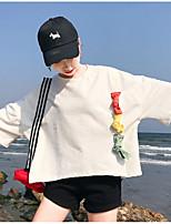 abordables -camiseta de mujer - bloque de color cuello redondo
