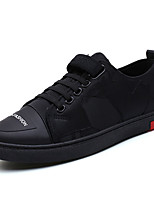 economico -Per uomo Scarpe Di corda Autunno Suole leggere Sneakers Nero / Rosso