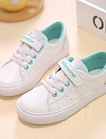 Недорогие -Девочки Обувь Полиуретан Весна Удобная обувь Кеды для Розовый и белый / Wit En Groen / Белый / Желтый