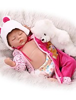 cheap -NPKCOLLECTION Reborn Doll 22 inch Full Body Silicone / Silicone Kid's Unisex Gift