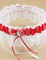 cheap -Polyester Contemporary / Wedding Wedding Garter 617 Rhinestone / Bowknot Garters Wedding / Party Evening