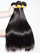 abordables -Cheveux Malaisiens Droit Tissages de cheveux humains / Extensions Naturelles Tissages de cheveux humains Sans odeur / Meilleure qualité /