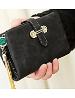 cheap -Women's Bags PU Coin Purse Buttons for Casual Blue / Black / Brown