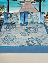 cheap -Duvet Cover Sets Floral Natural Fiber Ice Silk Jacquard 3 Piece