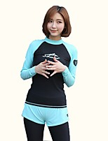 cheap -Women's Dive Skin Suit Quick Dry, Breathable, Comfortable Nylon Swimwear Beach Wear Swimming / Watersports / High Elasticity