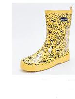 Недорогие -Жен. Обувь Резина Весна лето Резиновые сапоги Ботинки На плоской подошве Желтый