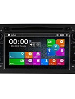 baratos -7inch 2 Din HD 1080P Windows CE 6.0 DVD Player Automotivo para Opel Sem fio Integrado / satélite / RDS - DVD-R / RW / CD-R / RW / VCD