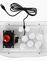 abordables -F10 Câblé Contrôleurs de jeu Pour Sony PS3 Polycarbonate Contrôleurs de jeu ABS 1pcs unité USB 2.0