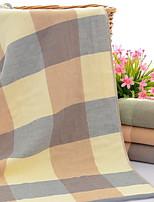 abordables -Qualité supérieure Serviette, Ecossais / à Carreaux / Géométrique Polyester / Coton 1 pcs
