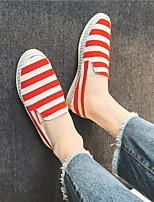 cheap -Men's Shoes Linen Summer Espadrilles Loafers & Slip-Ons Dark Blue Red Light Blue