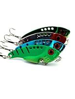 cheap -4pcs pcs Fishing Lures Metal Bait Metalic Sea Fishing / Fly Fishing / Bait Casting