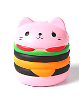 cheap -Squeeze Toy / Sensory Toy / Stress Reliever Cat / Hamburger Stress and Anxiety Relief / Decompression Toys Others 1pcs Children's All Gift