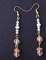 cheap -Women's Stud Earrings / Drop Earrings - Simple Light Pink For Wedding / Daily