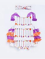 Недорогие -малыш Девочки Контрастных цветов Без рукавов 1 предмет