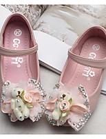 Недорогие -Девочки Обувь Полиуретан Весна Удобная обувь / Детская праздничная обувь На плокой подошве для Бежевый / Розовый