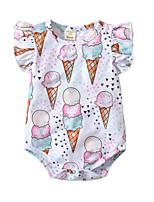 cheap -Baby Unisex Print / Color Block Sleeveless Bodysuit