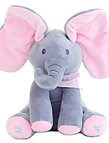 Недорогие -Слон Мягкие и плюшевые игрушки Странные игрушки Все Подарок 1 pcs