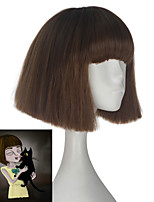 cheap -Cosplay Wigs Cosplay Cosplay Anime Cosplay Wigs 71.12cm CM Heat Resistant Fiber All
