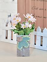 Недорогие -Искусственные Цветы 1 Филиал Деревня Хризантема Букеты на стол