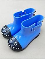 Недорогие -Девочки Обувь Кожа ПВХ  Весна лето Резиновые сапоги Ботинки для Желтый / Красный / Синий