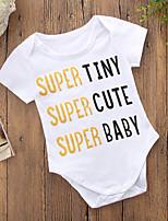 preiswerte -Baby Unisex Druck Kurze Ärmel Body