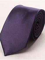 cheap -Men's Work Necktie - Solid Colored Basic