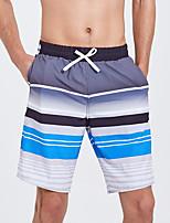 Недорогие -SBART Муж. Пляжные шорты Водонепроницаемость, Быстровысыхающий, Пригодно для носки Полиэстер / Спандекс Одежда для пляжа Нижняя часть