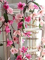 Недорогие -Искусственные Цветы 1 Филиал Деревня / Свадьба Орхидеи Цветы на стену