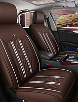 cheap -ODEER Car Seat Cushions Seat Covers Coffee Textile / PU Leather Common for universal All years All Models