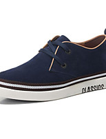 cheap -Men's Shoes Suede Fall Comfort Sneakers Black / Dark Blue / Coffee