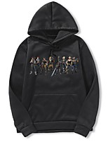 cheap -Men's Basic Hoodie - Portrait, Print