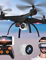 abordables -RC Drone KY501W BNF 4 Canaux 6 Axes 2.4G Avec Caméra HD 2.0MP 720P Quadri rotor RC FPV / Retour Automatique / Mode Sans Tête Quadri rotor