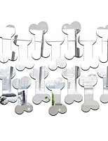 Недорогие -Декоративные наклейки на стены - Простые наклейки / 3D наклейки Геометрия Гостиная / Детская