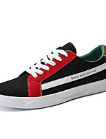 cheap -Men's Shoes PU Spring Light Soles Sneakers White / Red / Black / Red